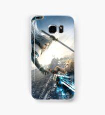 FFVII: Advent Children - Fight! Samsung Galaxy Case/Skin