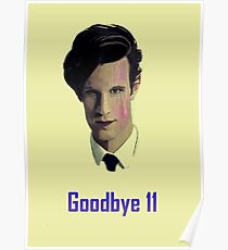 Tribute to Matt Smith's Doctor Poster
