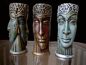 candelholders by lidiasimeonova