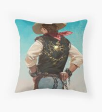 The Prisoner Of Route 66 Throw Pillow