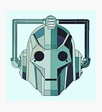 Cyberman Photographic Print