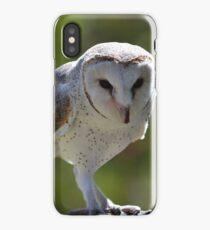 Casper - Australian barn owl iPhone Case/Skin