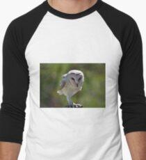 Casper - Australian barn owl Men's Baseball ¾ T-Shirt