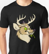 MAN-EATING REINDEER FROM HELL Unisex T-Shirt