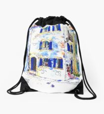 House on The Square, Trausse Minervois Drawstring Bag
