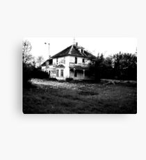 The Murder House Canvas Print