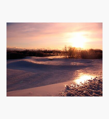 Icy Landscape Photographic Print