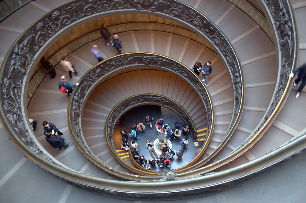 Momo Stairs by Ian Johnston