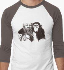 Charles Darwin Portrait T-shirt Atheist Tee Evolution T-Shirt