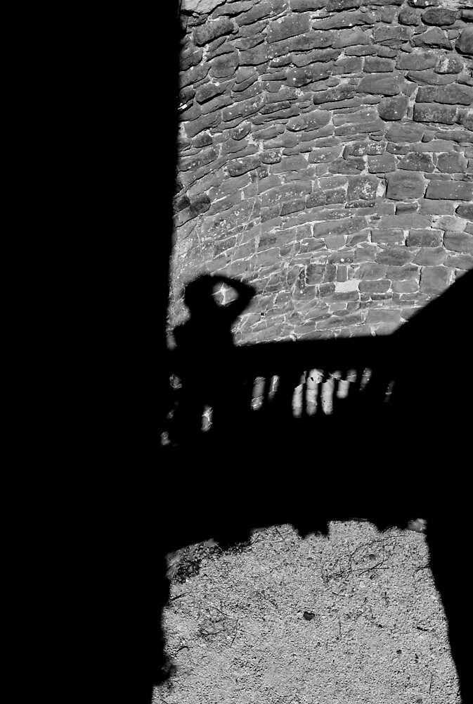 Shadows, Conway Castle by JimWhitham