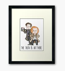 The X Files: The Truth Is Out There Framed Print