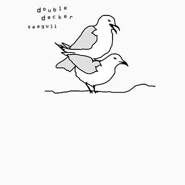 Double Decker Seagull by roxx