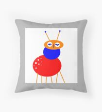 KIDS ART Character, BUG-ME-NOT,  blue bell Coussin