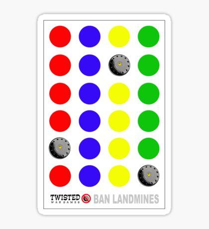Twisted - War Games (Watch your Step - NFA VS UXO) Sticker