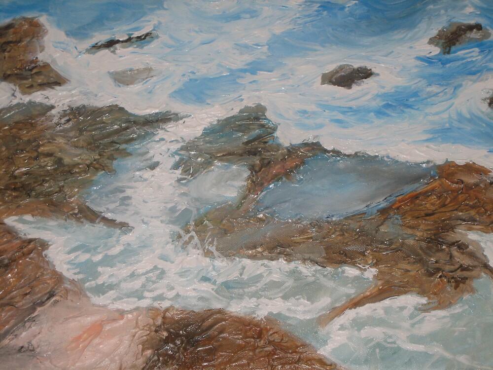 Woonona Seascape by jenstep0