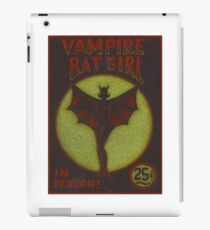 Vampire Batgirl iPad Case/Skin