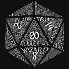 Table Top RPG D20 by singingInferno