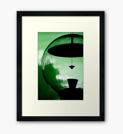 Alien Green Framed Print