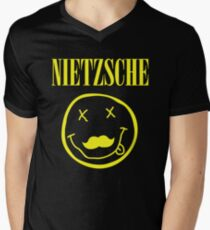 Nietzsche / Nirvana (Monsters of Grok) Men's V-Neck T-Shirt