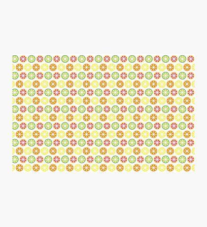 Citrus Pattern Photographic Print