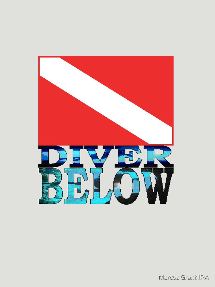 Diver Below Red Flag by racoon