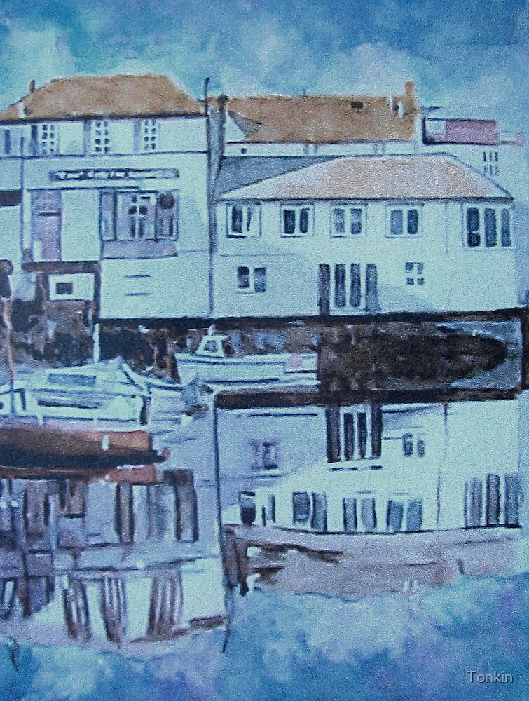 Falmouth Waterfront, Across the Basin, Cornwall by Tonkin