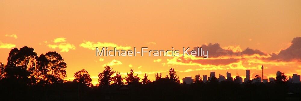 """""""A Sydney Sunrise """" by Michael-Francis Kelly"""