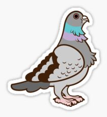 Pigeon Pattern Sticker