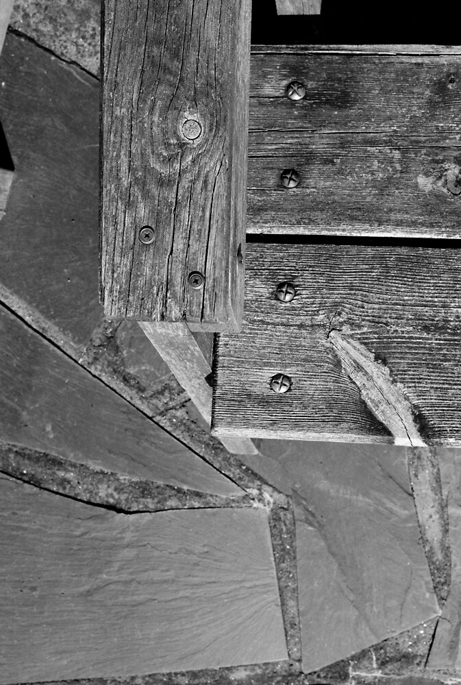 Wood and slate by JimWhitham