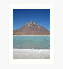 Laguna Verde Art Print