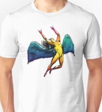 ICARUS THROWS THE HORNS - shiny brights ***FAV ICARUS GONE? SEE BELOW*** T-Shirt