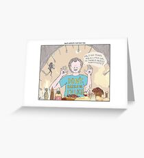 Pans Labyrinth + What About Bob Greeting Card