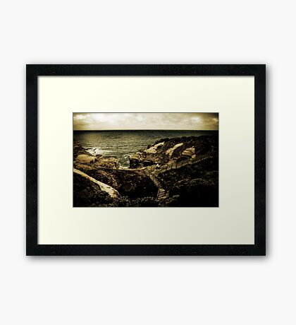 The Grotto, The Great Ocean Road, Victoria Framed Print