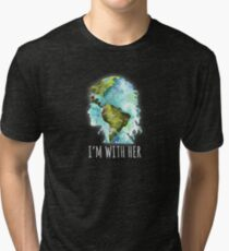 Earth Day - I'm With Her  Tri-blend T-Shirt