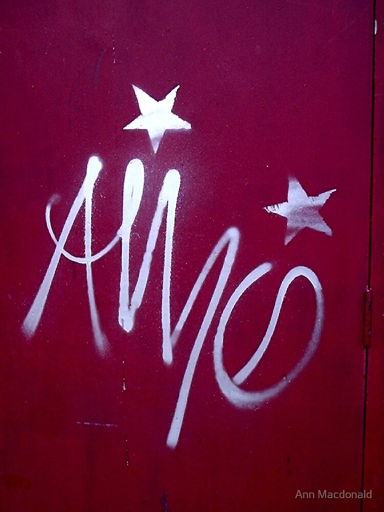 Graffiti by Ann Macdonald