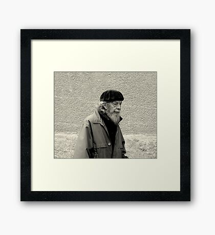 Almoust there....... Framed Print