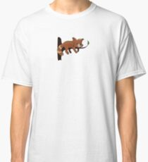 cute sleeping red panda Classic T-Shirt