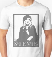 STEVIE NICKS GRAYSCALE Unisex T-Shirt