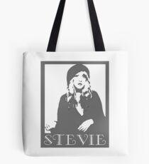 STEVIE NICK GREYSCALE Tote Bag