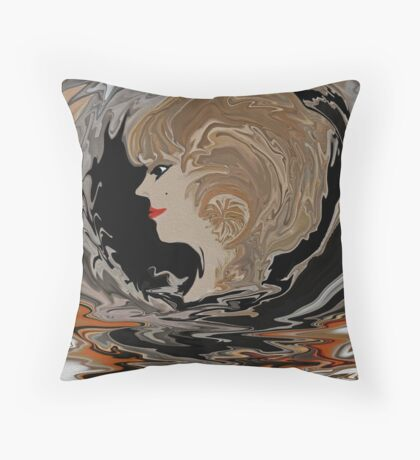 Classy Ma Ma ..by Sherri's Of Palm Springs Throw Pillow