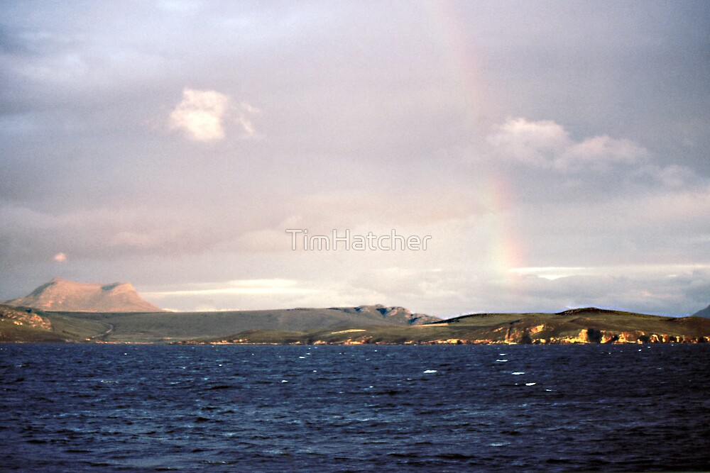 Island Rainbow by TimHatcher