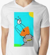 Chip-Calibur  Men's V-Neck T-Shirt