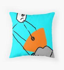 Chip-Calibur  Throw Pillow