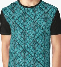 Seamless knitted vector Graphic T-Shirt