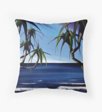 Curiously looking in... Throw Pillow