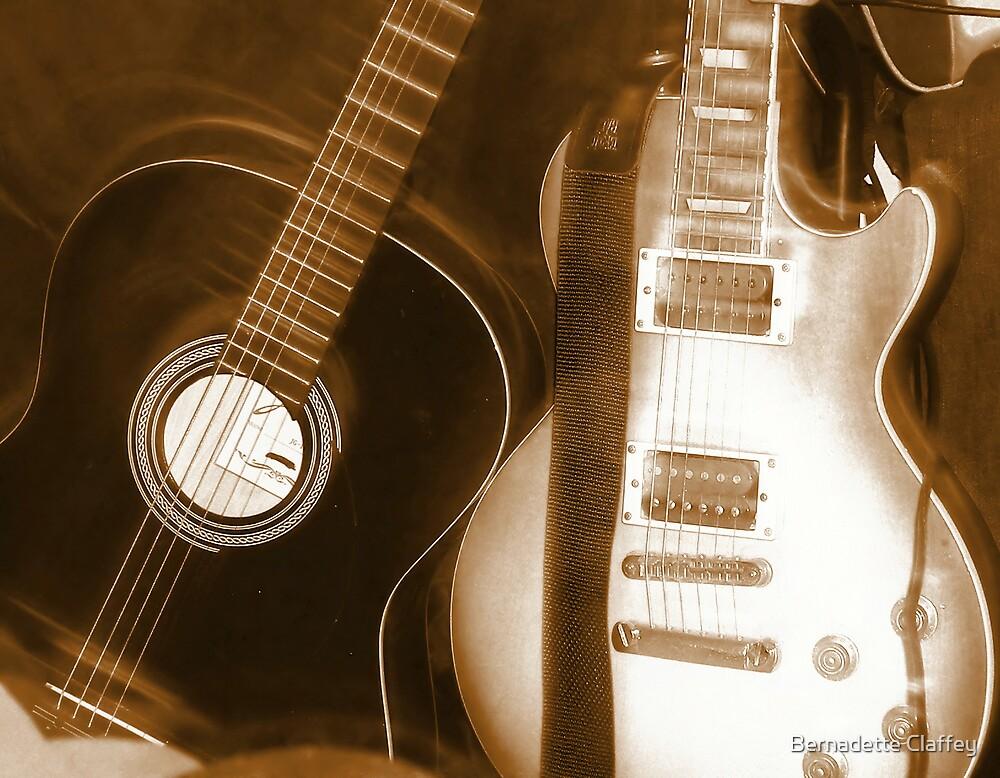 Little Guitars by Bernadette Claffey