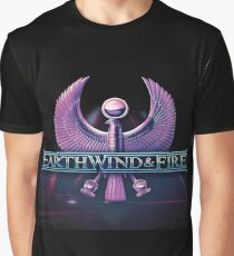 EARTH WIND & FIRE Graphic T-Shirt