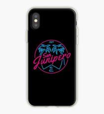 Black Mirror San Junipero NEON iPhone Case
