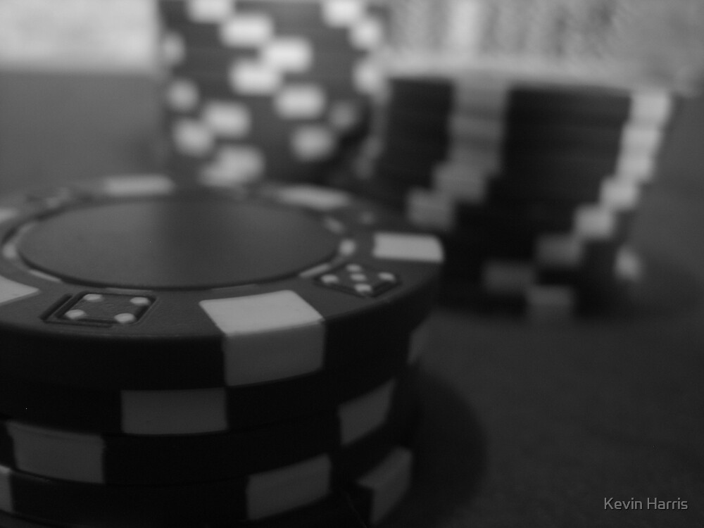poker chip 1 by Kevin Harris