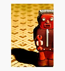 Tin Toy Photographic Print